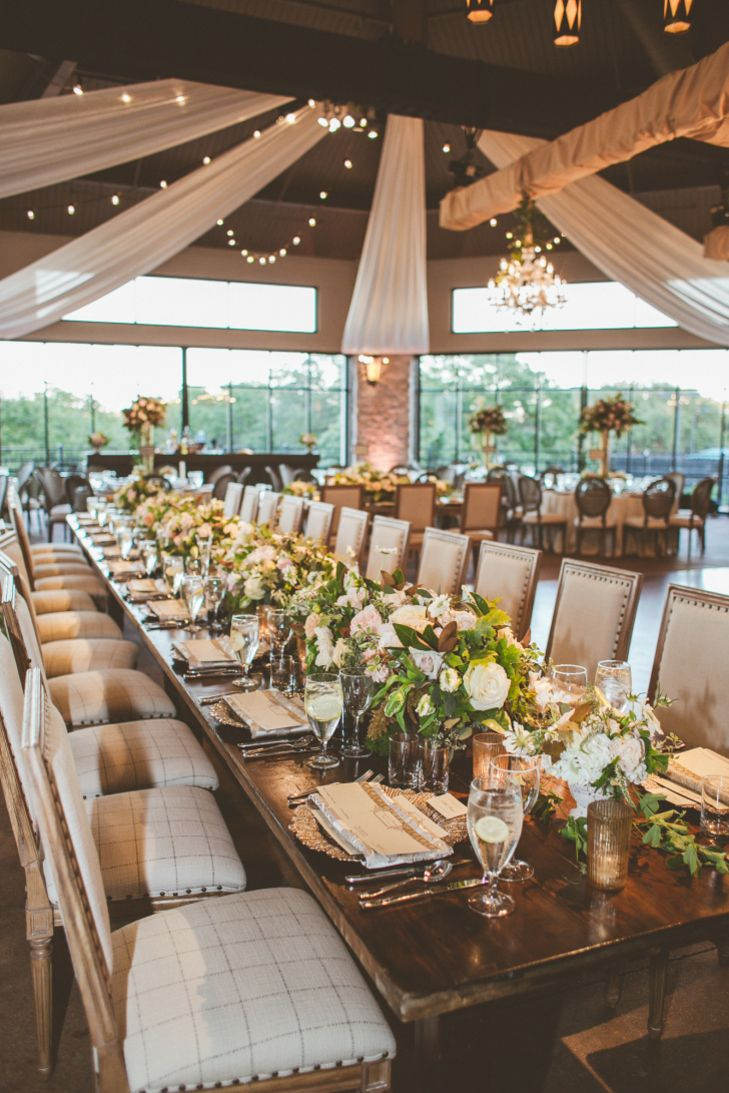 Rustic, Elegant Reception with Outdoor Feel in Austin