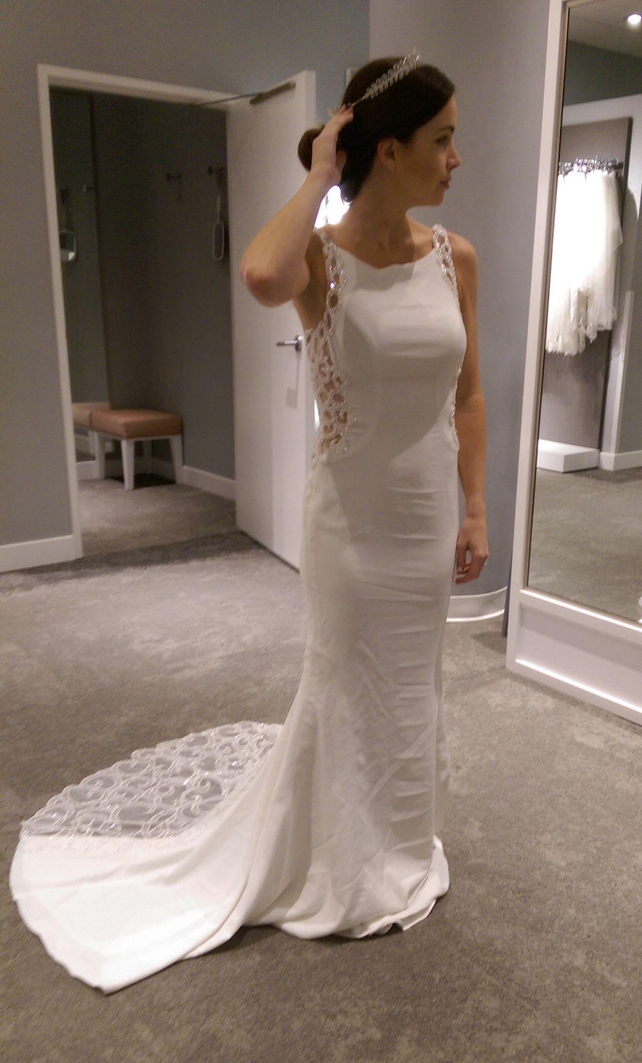 Galina Signature Beaded Illusion Wedding Dress Bridal Weddingdress Galina Sv771 Bridal Wedding Dresses Illusion Wedding Dress Bridesmaid Dressing Gowns [ 2133 x 1288 Pixel ]