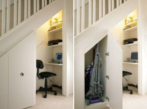Schöne praktische Lagerraum Ideen unter der Treppe | Haus Deko ...