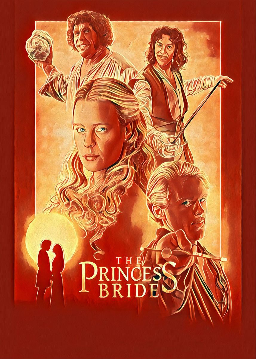 'The Princess Bride' Metal Poster Print - Stoky | Displate | Displate thumbnail