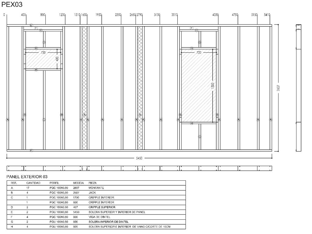 Ingeniería de Detalle de proyectos y planos de Steel Framing | Sto ...