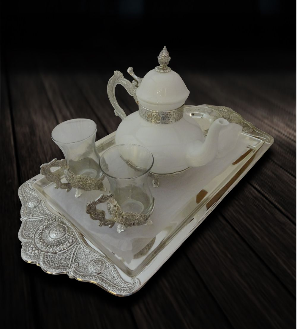 Tea set with 6 cups coasters tray kettle online gift shopping tea set with 6 cups coasters tray kettle online gift shopping india junglespirit Gallery