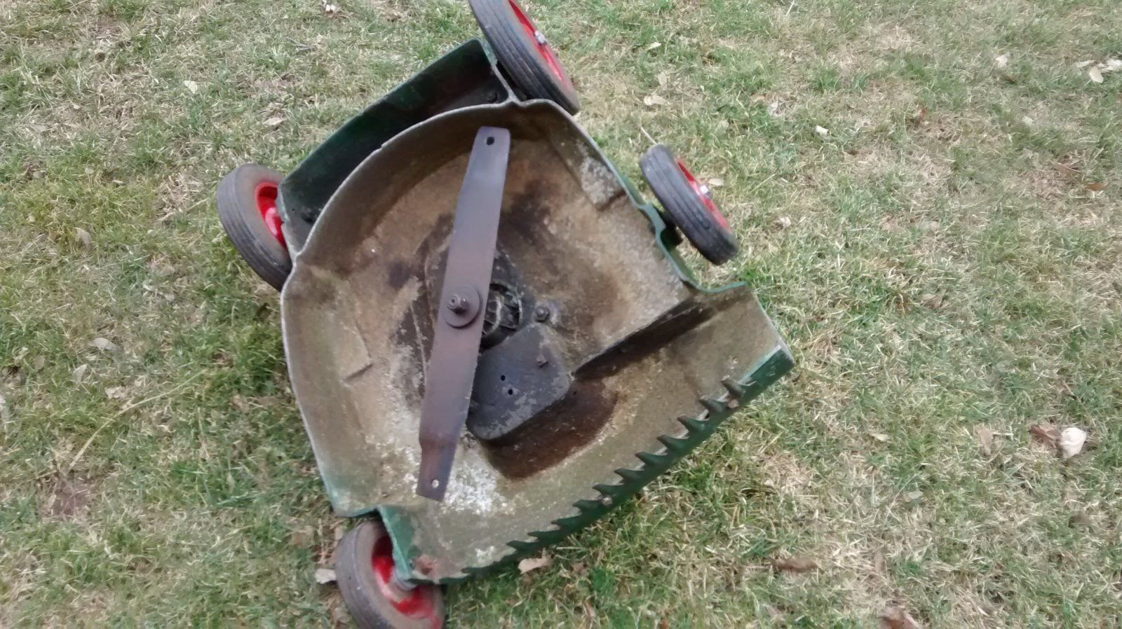 Antique Vintage Lawn Boy Lawnboy RPM Iron Horse Mower Lawnmower