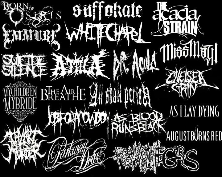 types of deathcore