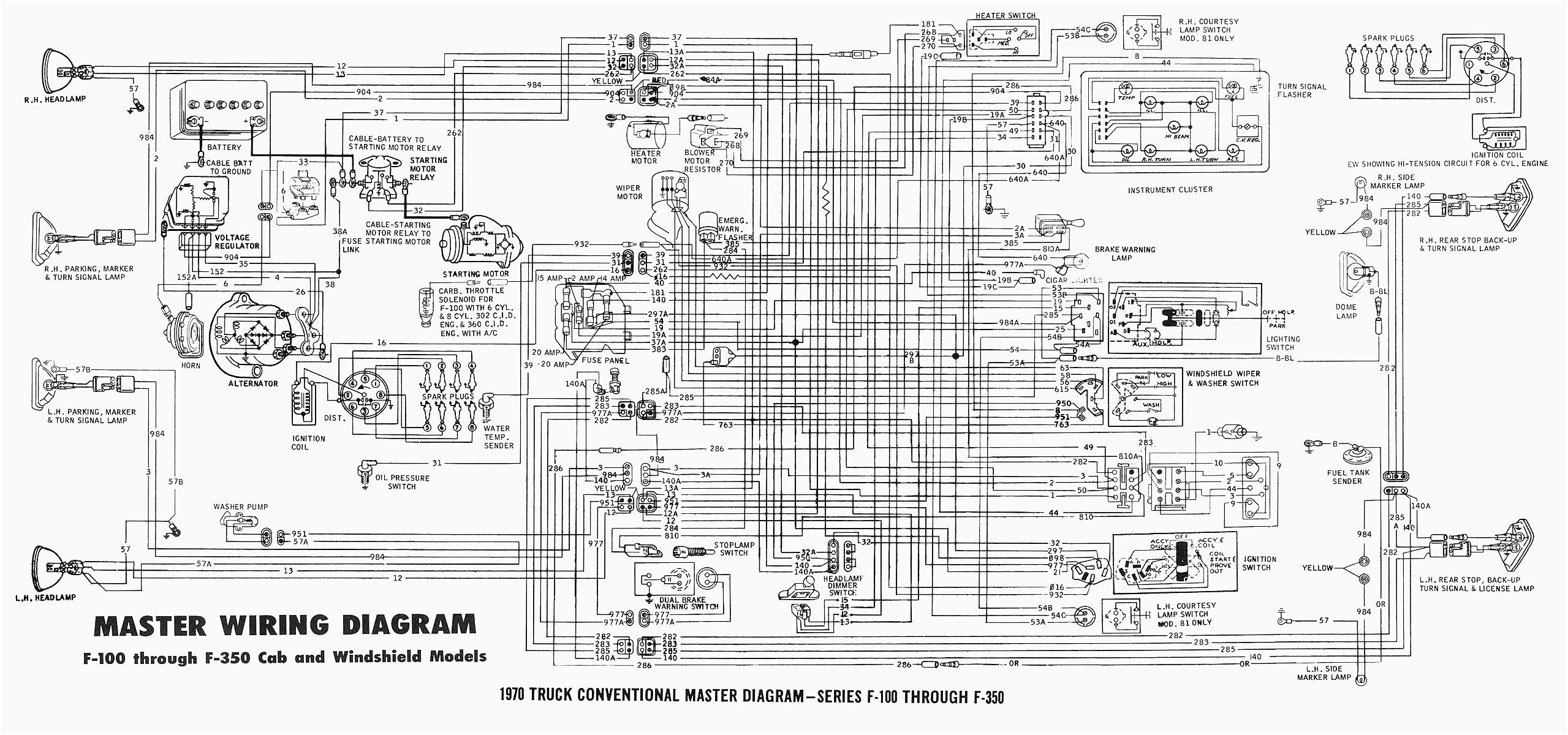 1965 Ford Thunderbird Turn Signal Wiring Diagram