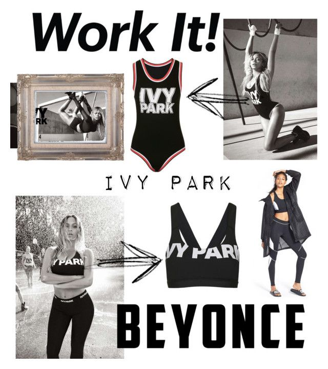 """""""Sssshhhittt"""" by polykardashian ❤ liked on Polyvore featuring Ivy Park, b. scott and Topshop"""