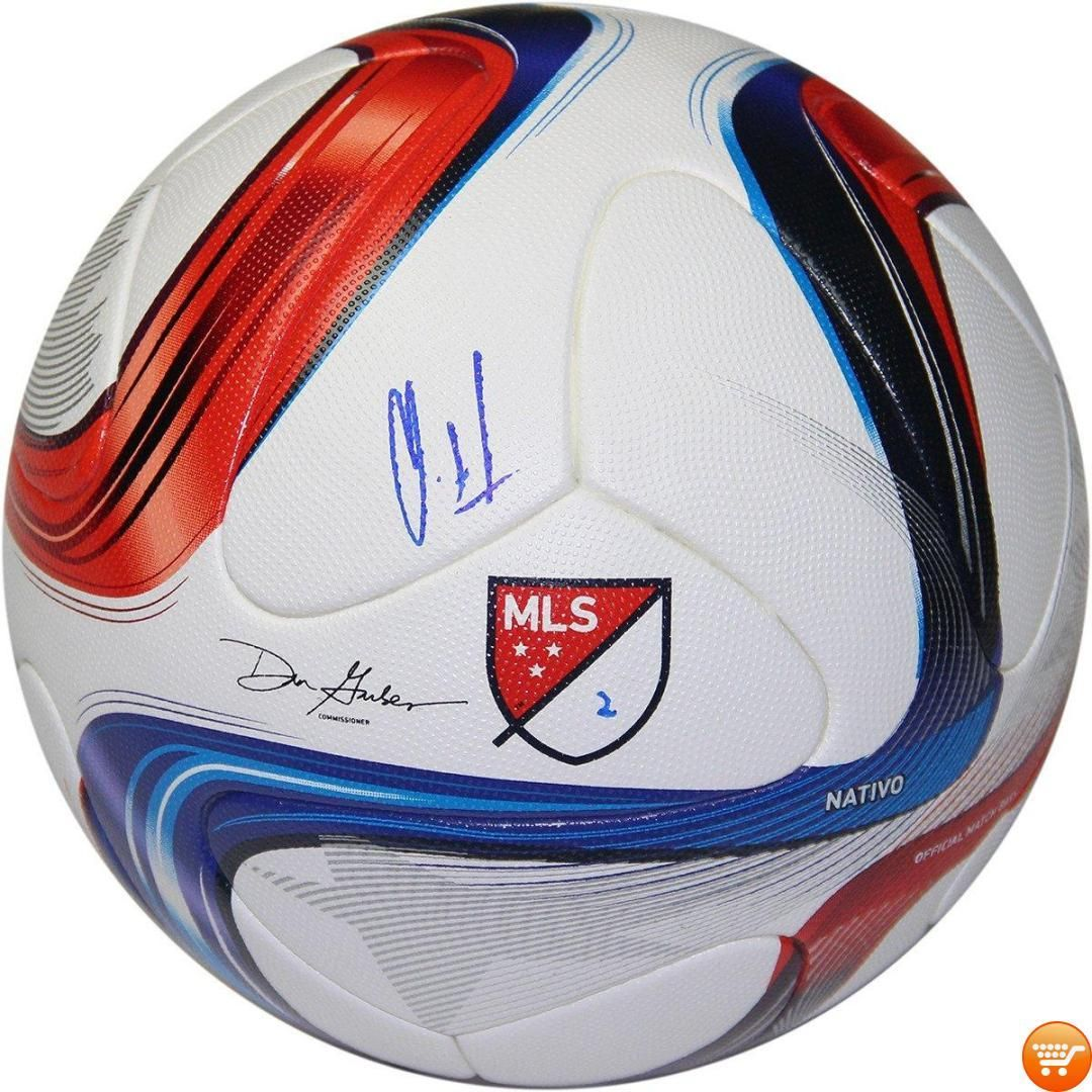 Clint Dempsey Signed Adidas Official Match Ball Clint Dempsey Adidas Official Mls Soccer