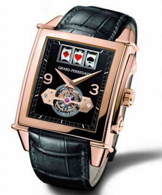 fd975f8c582 The Girard-Perregaux Vintage 1945 Jackpot Tourbillon Casino Watch ...