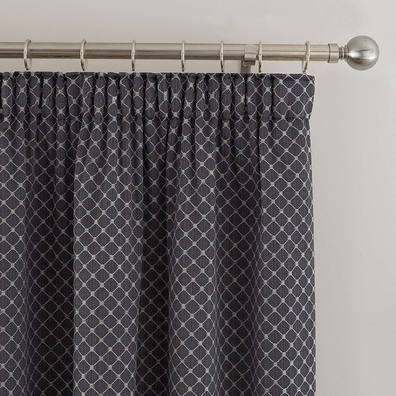 Omega Charcoal Lined Pencil Pleat Curtains Dunelm Pleated Curtains Pencil Pleat Curtains