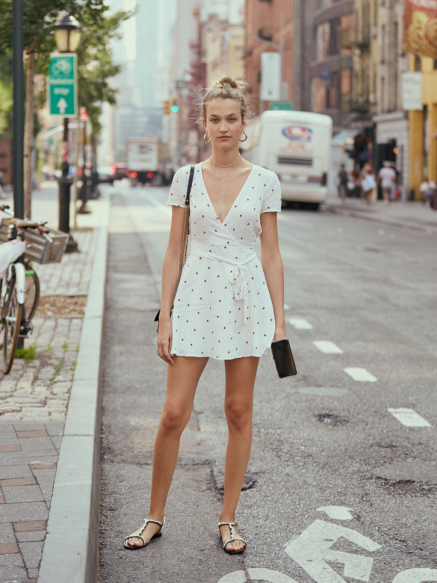 Wrap Dresses Sandals A Match Made In Heaven Summer Fashion For Teens Summer Fashion Outfits Classy Blouses [ 2250 x 1687 Pixel ]