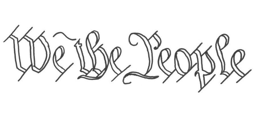We The People Coloring Page Book For Kids People Coloring