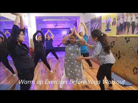 परफेक्ट फिगर पाइए yoga warm up in 5 steps for beginners