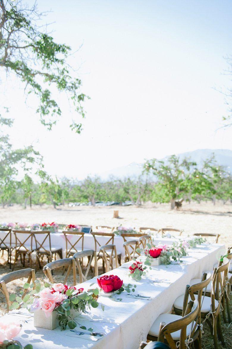 We Kept Our 125K Ranch Wedding Fabulous Despite 100 Degree Weather