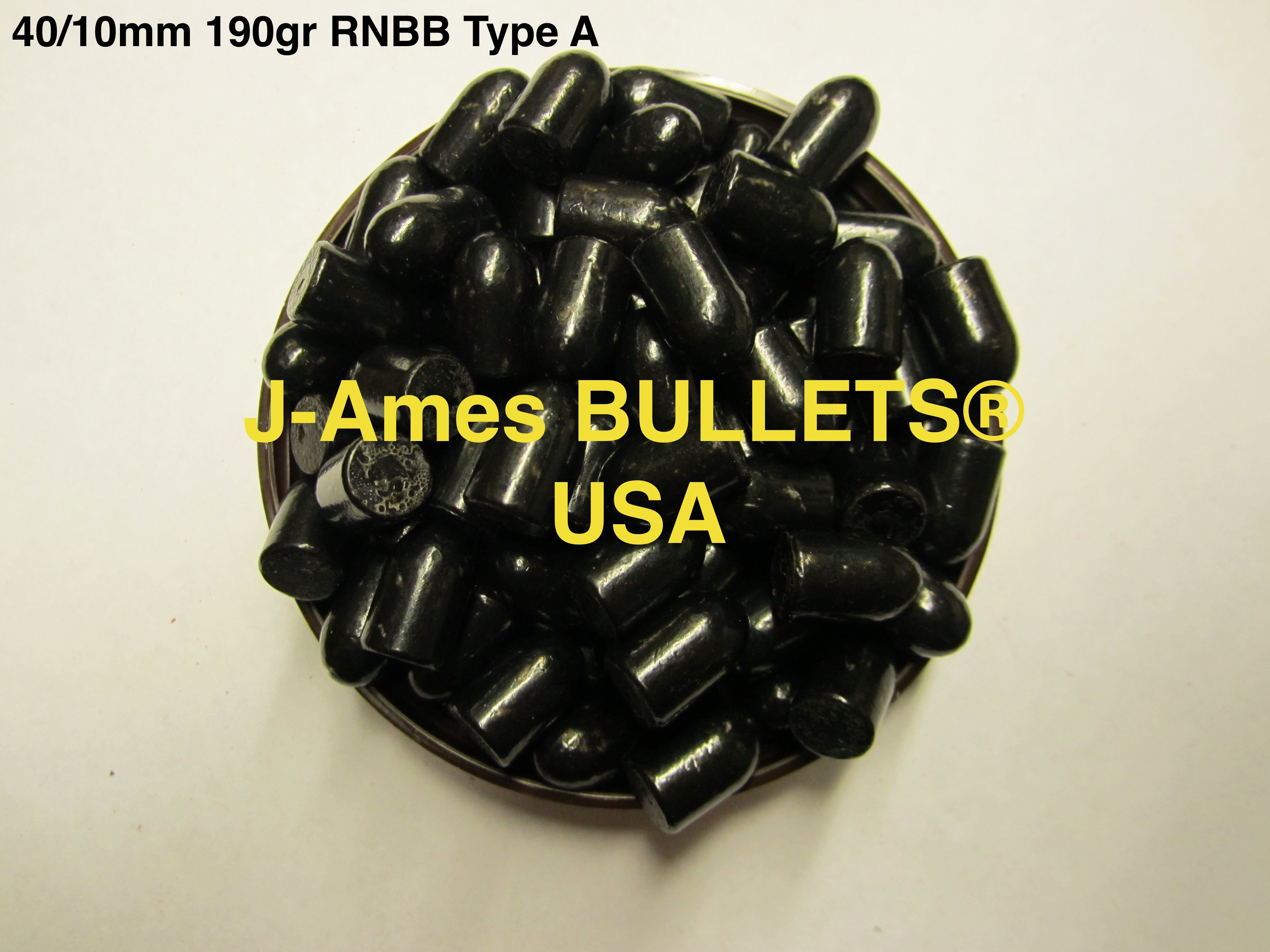 J-Ames BULLETS Extremely accurate New 190gr 40/10mm bullet | J-Ames