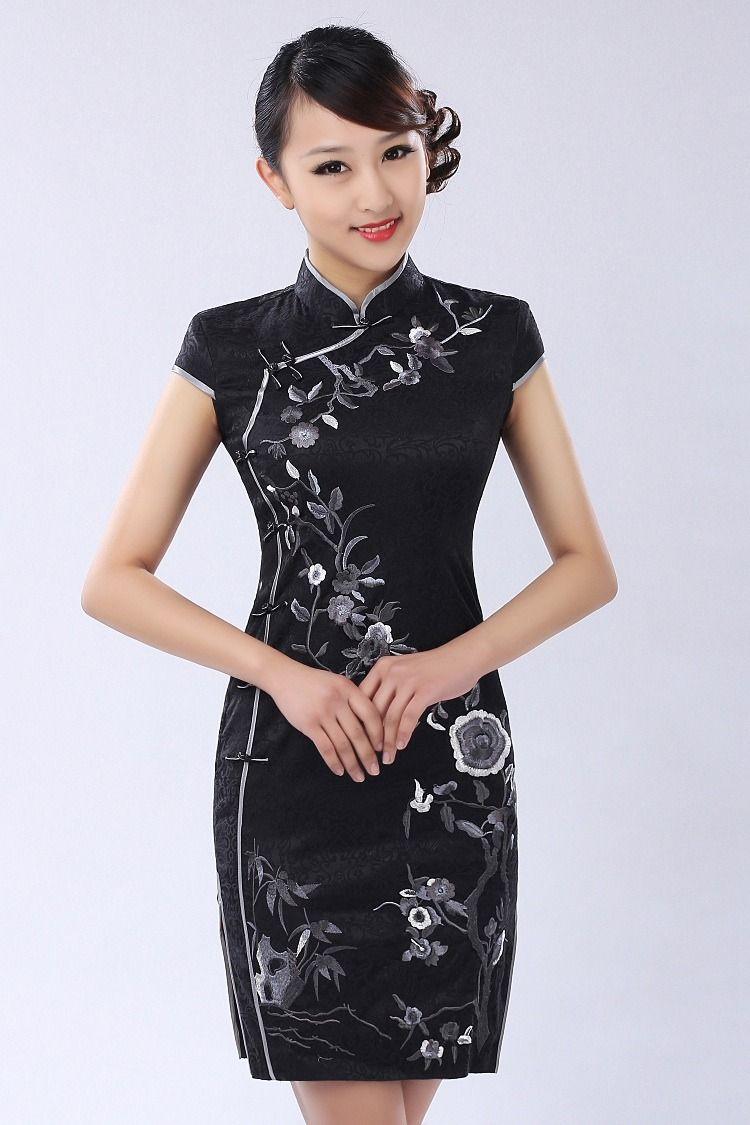 41eaa9aba Vestidos Estilo Chino Vestidos de Moda Hermosos