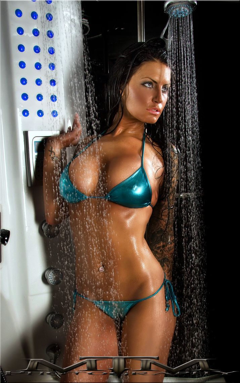 Xxx bikini shower