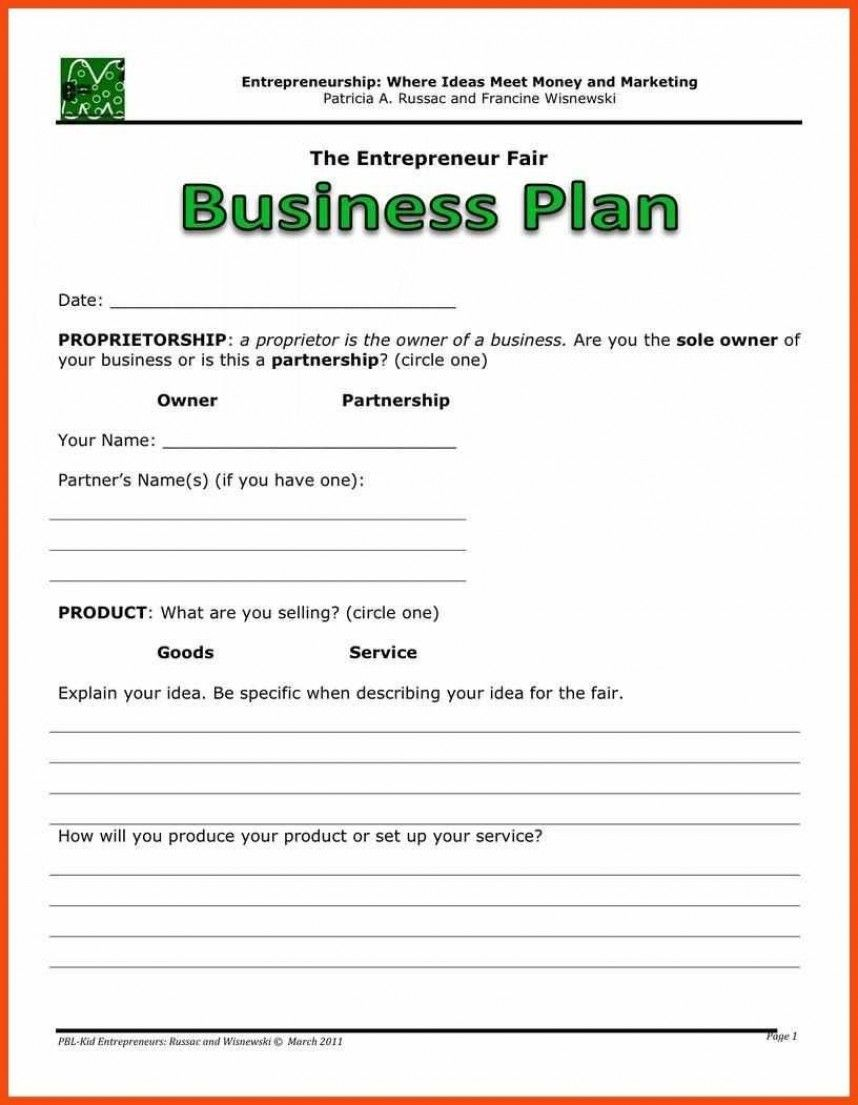 Beautiful Simple Business Plan Template Word Ideas Free