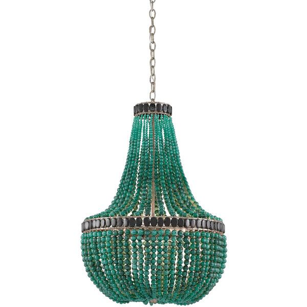 La Malaquita Chandelier in Green & Black design by Currey & Company ($4,990) ❤ liked on Polyvore featuring home, lighting, ceiling lights, chandeliers, green lights, black lamp, green lamp, black lights and black ceiling lamp