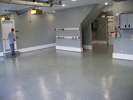 paint floor for coating resin exhaust easy garage booth the fan best