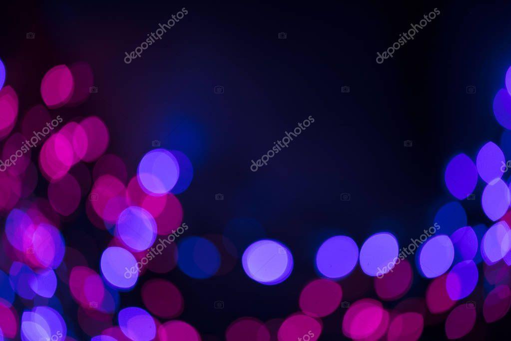 Casino bokeh lights. - Stock Photo ,