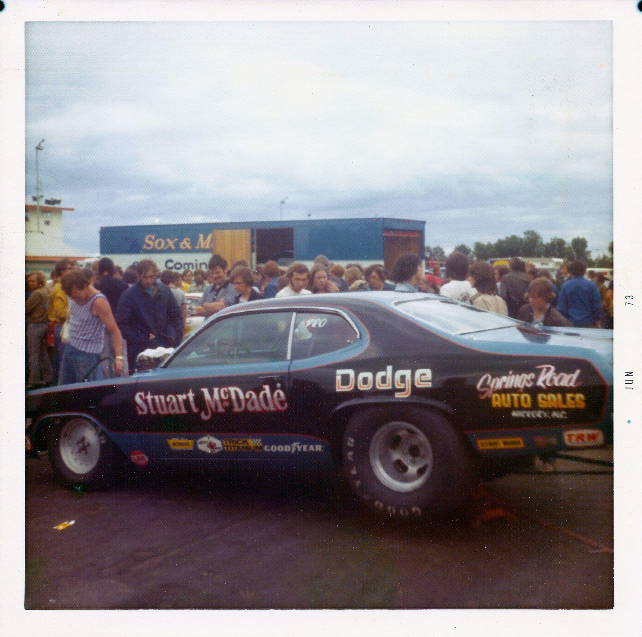 Vintage Drag Racing - Pro Stock - Stuart McDade