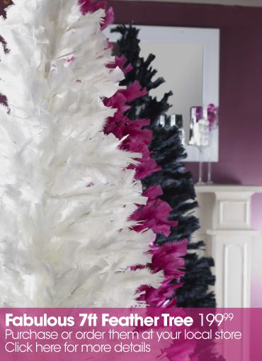 Feather Christmas tree @ Bouclair Home | Products I Love ...