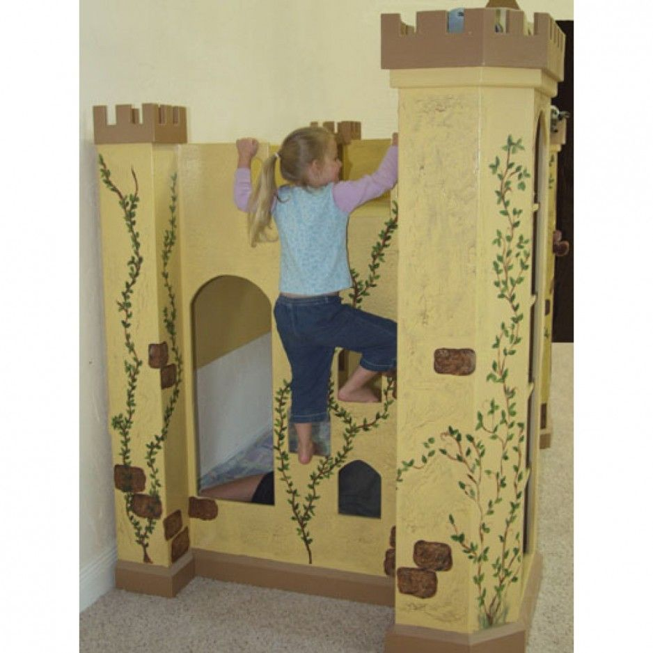 Loft bed with slide and storage  Kids Bedroom Bedroom Cool Boys Bedroom Bedroom Appealing Sport