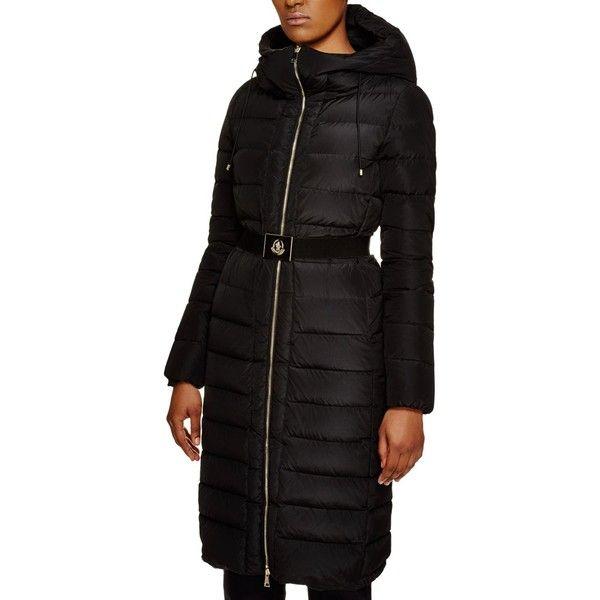 993b954b7 Moncler Khloe Belted Fox Fur Hood Long Down Coat   Bloomingdale's ...