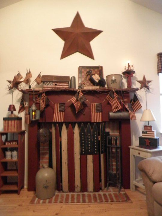 51f20ceb005accbace4a0dafc7f5f5d0 Jpg 540 720 Pixels Home Pinterest Primitives Country Decor And Americana Living Rooms