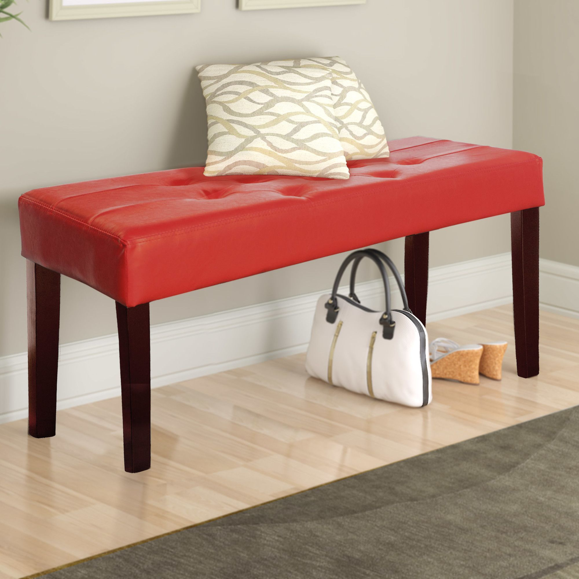 Fresno Upholstered Entryway Bench  Products  Pinterest  Products