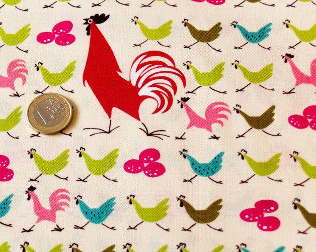"Animal Print Fabric – Alexander Henry ""farmdale crossing"" – a unique product by haendisch on DaWanda"