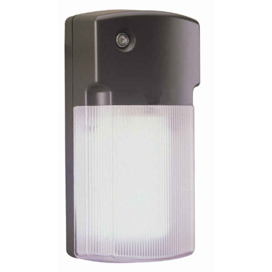 Shop Utilitech 26-Watt Bronze CFL Dusk-to-Dawn Security