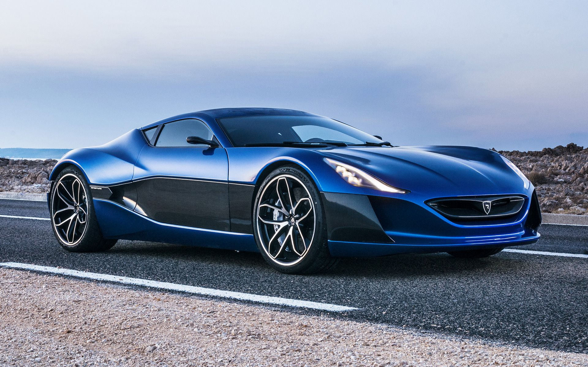 The All Electric Rimac Concept 1 Car In The World Bugatti Veyron Super Sport Fast Cars