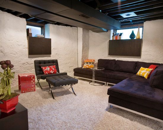 Superieur Low Ceiling Basement Ideas Is Amazing Ideas Which Can Be Applied Into Your  Basement Design 19