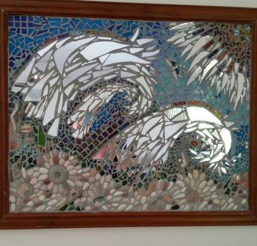 Mosaic Mixed media by lee mackenzie