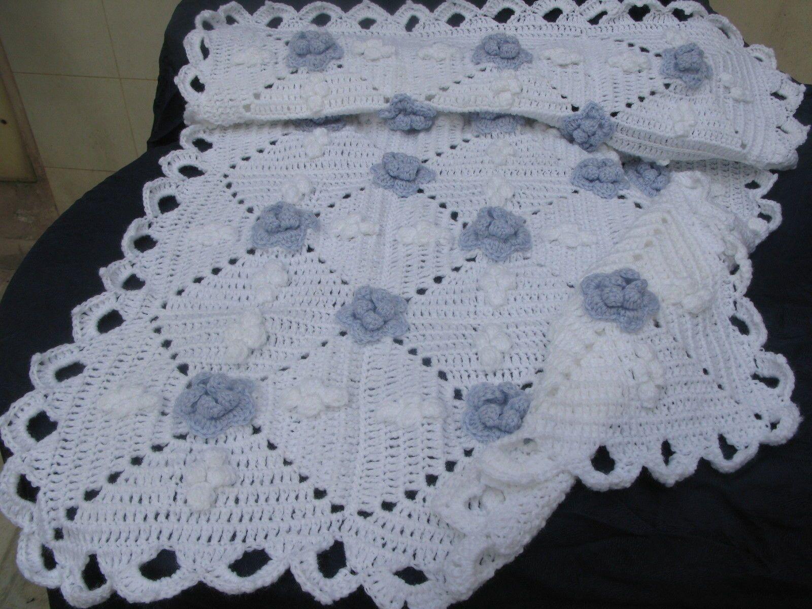Come unire quadrati coperta uncinetto vivagni e cucitura