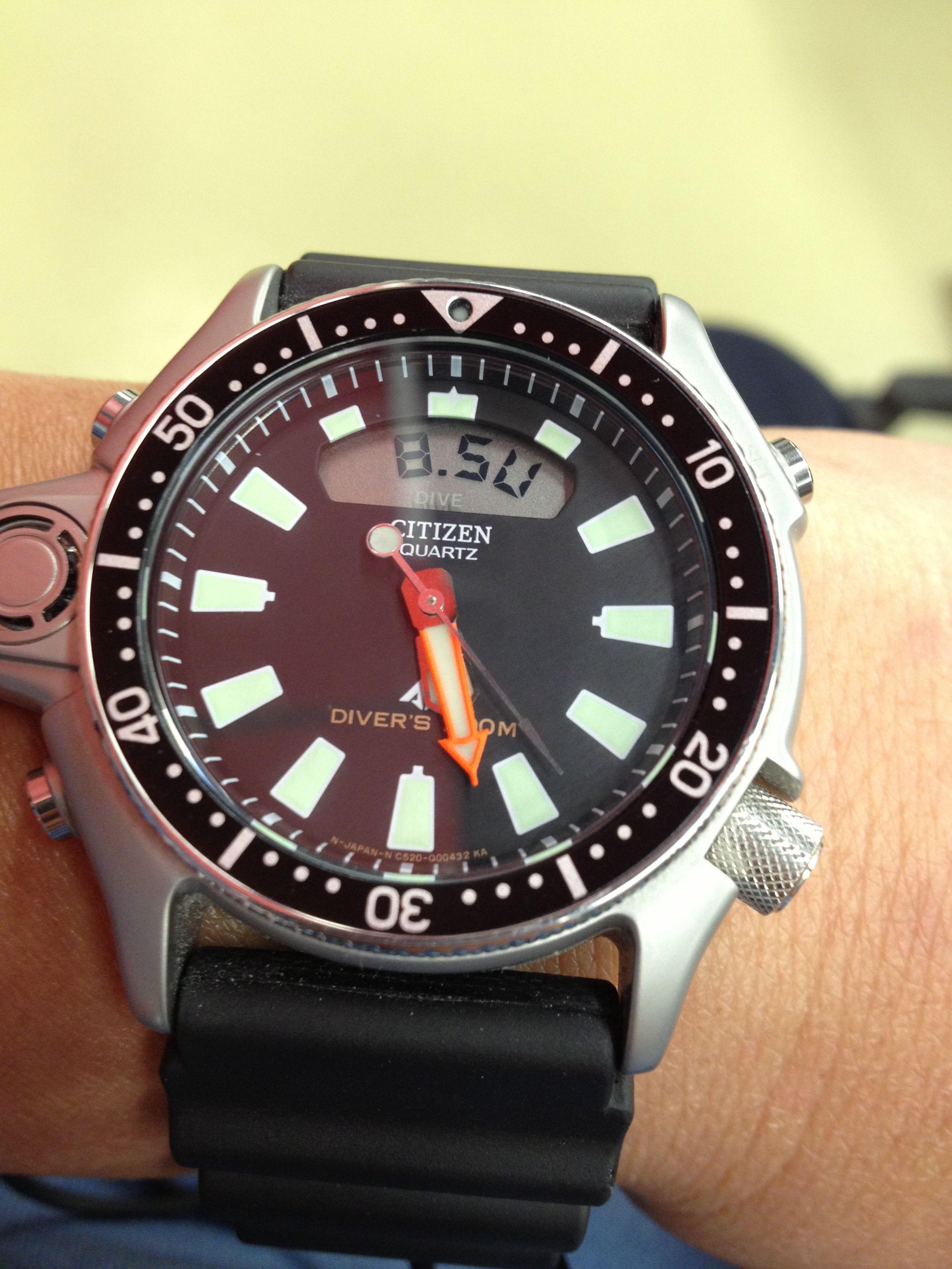 8d6e42f4d0a My very own Citizen Aqualand C520 dive watches
