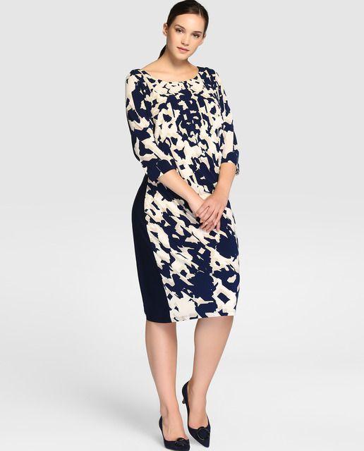 ae954e05147 Moda desde la talla 48, descubre las nuevas tendencias en vestidos de tallas  grandes en tu tienda de moda online El Corte Inglés. Envío en 48 horas