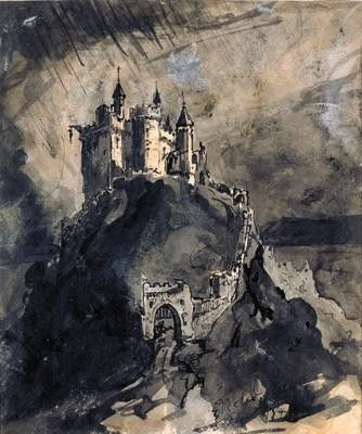 Drawing by Victor Hugo.