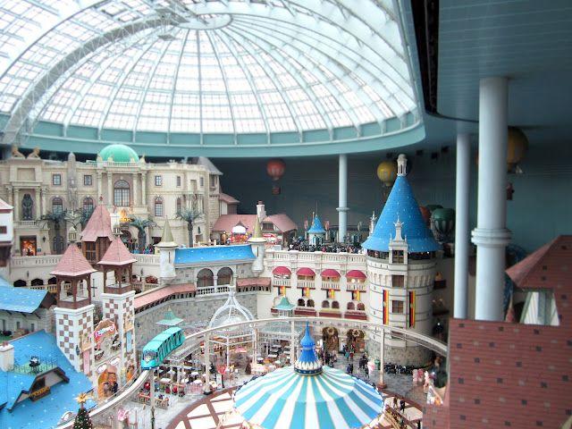 Lotte World Indoor Amusement Park In Seoul Indoor Amusement Parks Lotte World Water Park