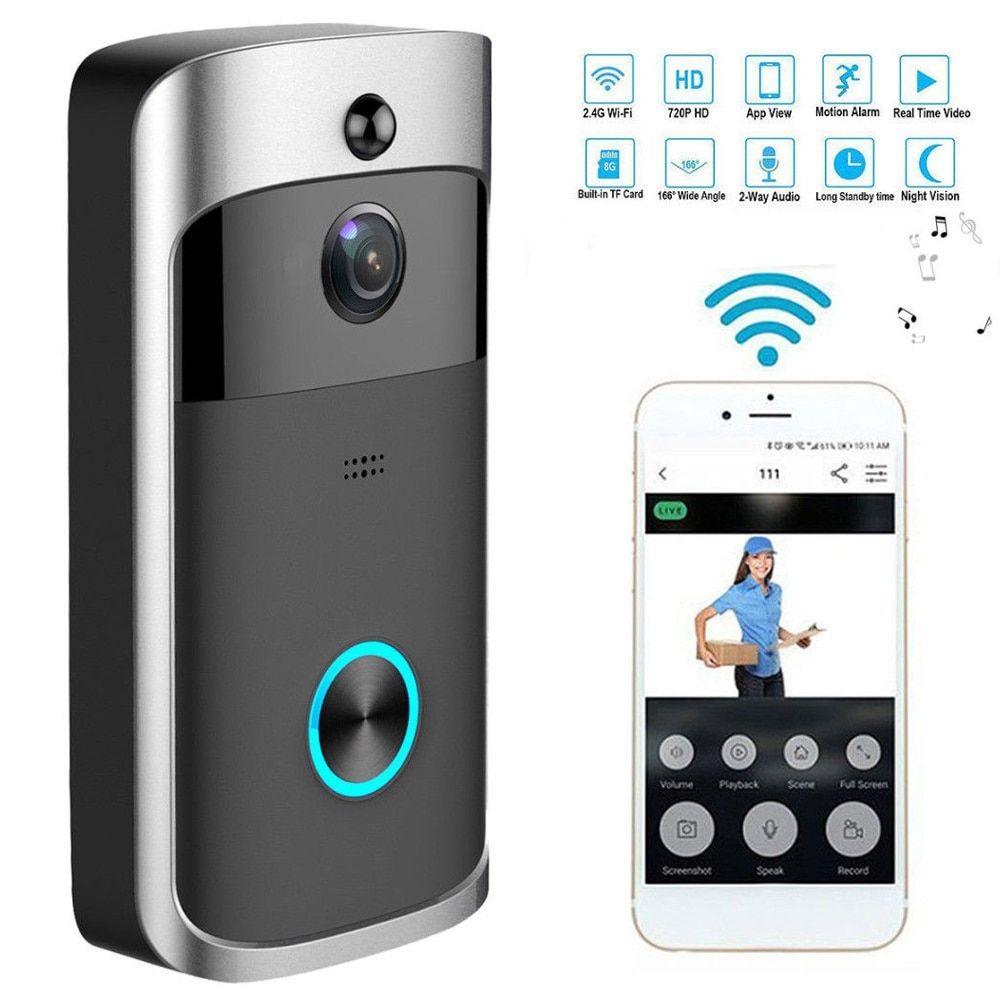 Smart Doorbell Video Camera Usbigstore Com Wifi Doorbell Wireless Video Doorbell Wireless Doorbell