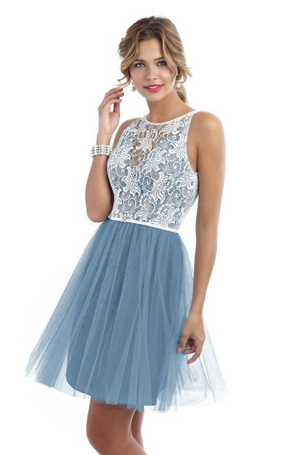 Style 4212 Bridesmaid Dress by Alexia Designs in Cornflower with ...