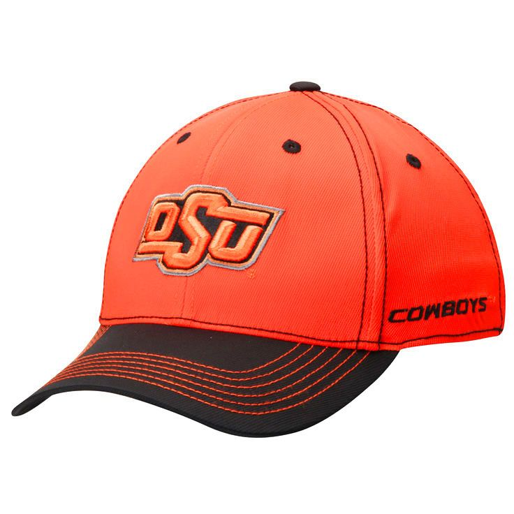 Oklahoma State Cowboys Top of the World Krossover 2-Tone Memory 1Fit Flex Hat - Orange/Black - $22.99