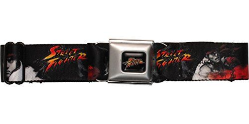 Street Fighter Ryu Seatbelt Mesh Belt @ niftywarehouse.com #NiftyWarehouse #Geek #Gifts #Collectibles #Entertainment #Merch