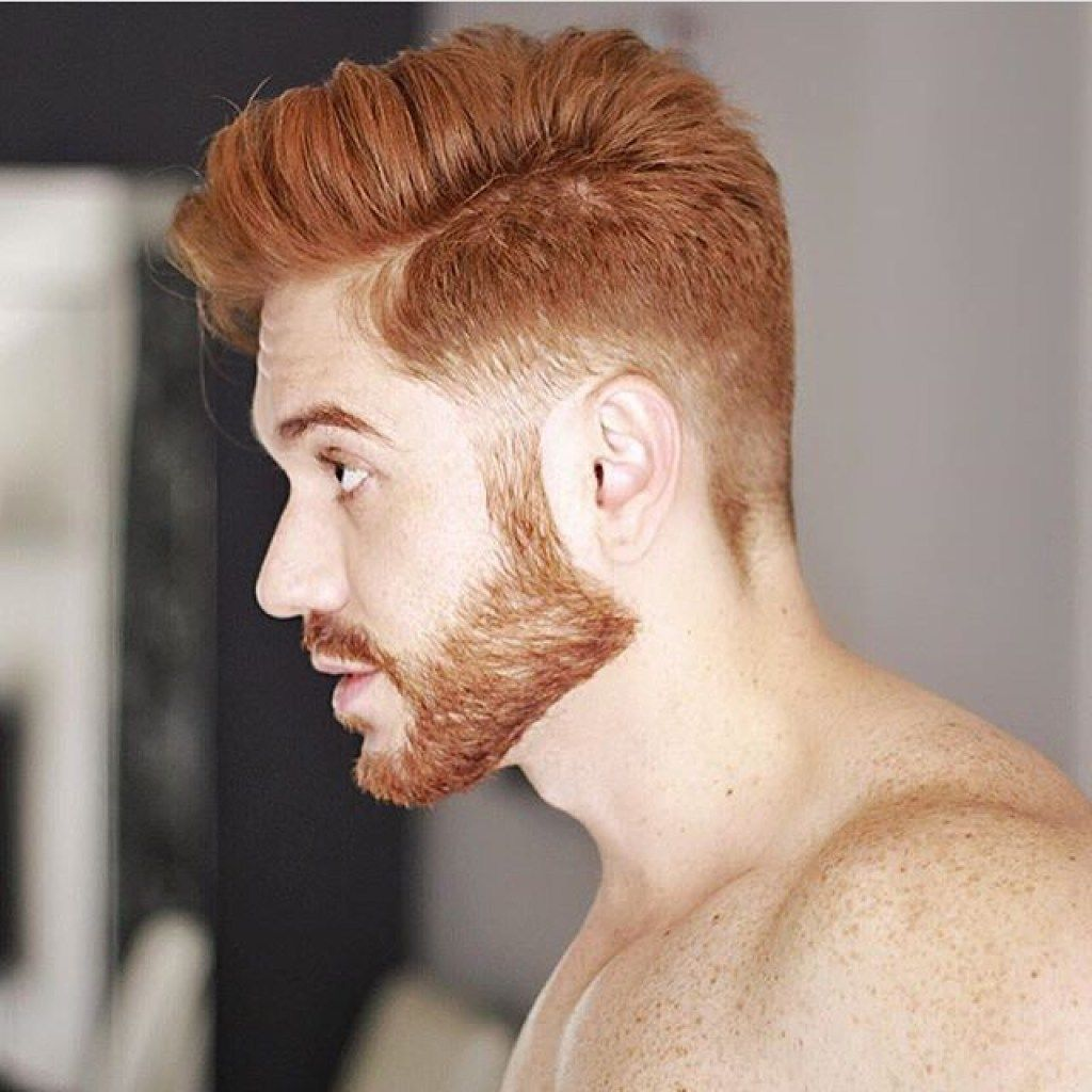 Cute Hairstyles For Red Highlights Cores De Cabelo Masculino Cabelo Masculino Barba E Cabelo