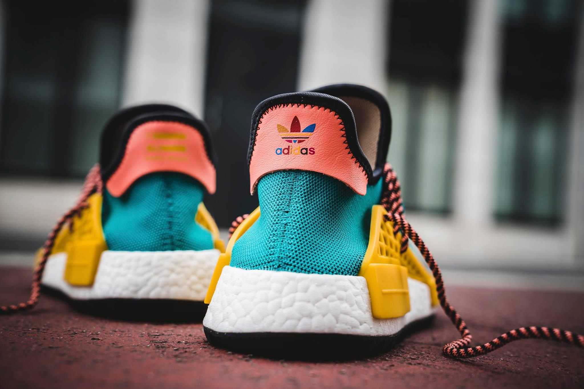 b857093270ae8 Pharrell Williams x adidas NMD Human Race Trail  Sun Glow EQT Yellow  -  Where to buy online