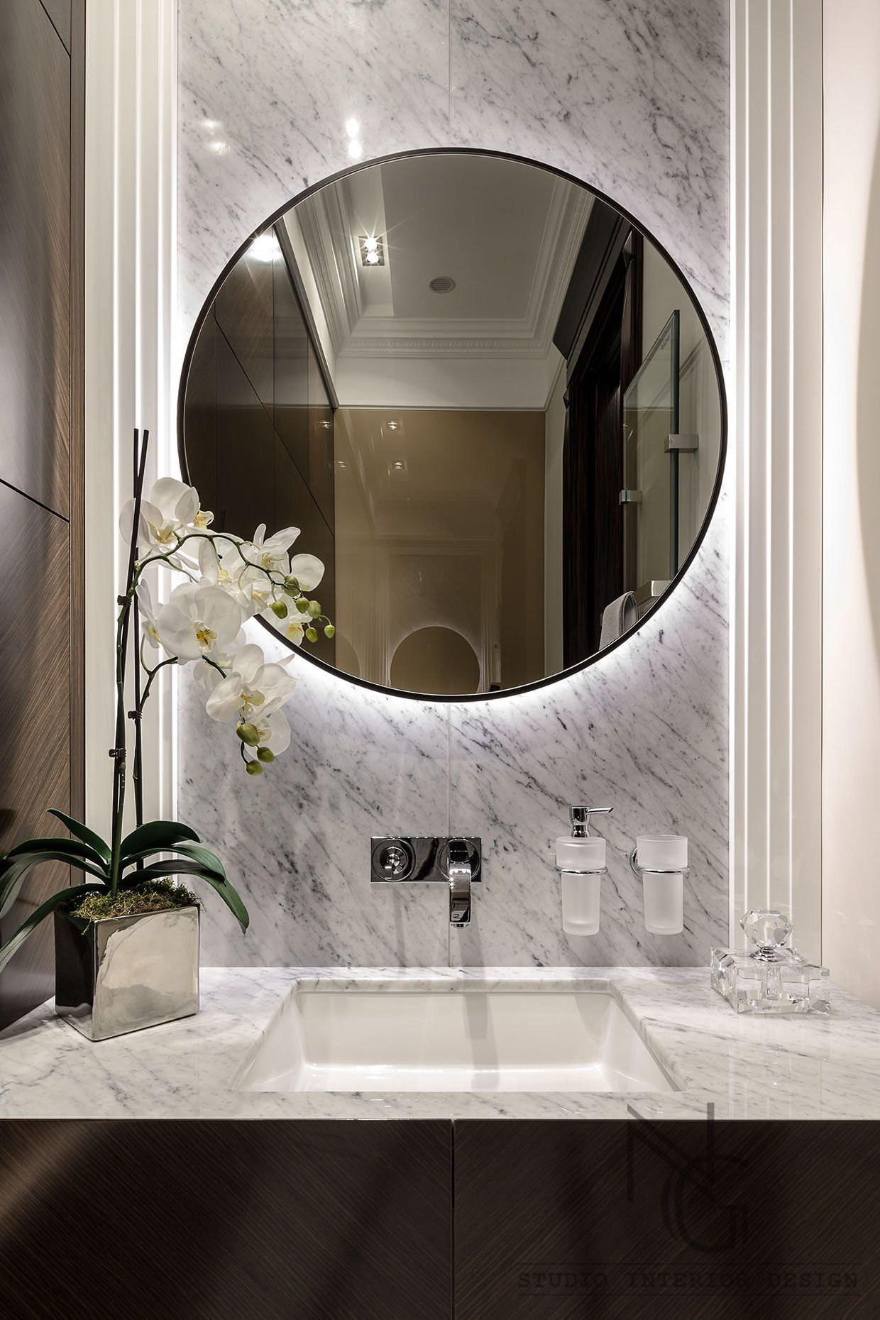 10 Gorgeous And Modern Powder Room Design Ideas Small Elegant