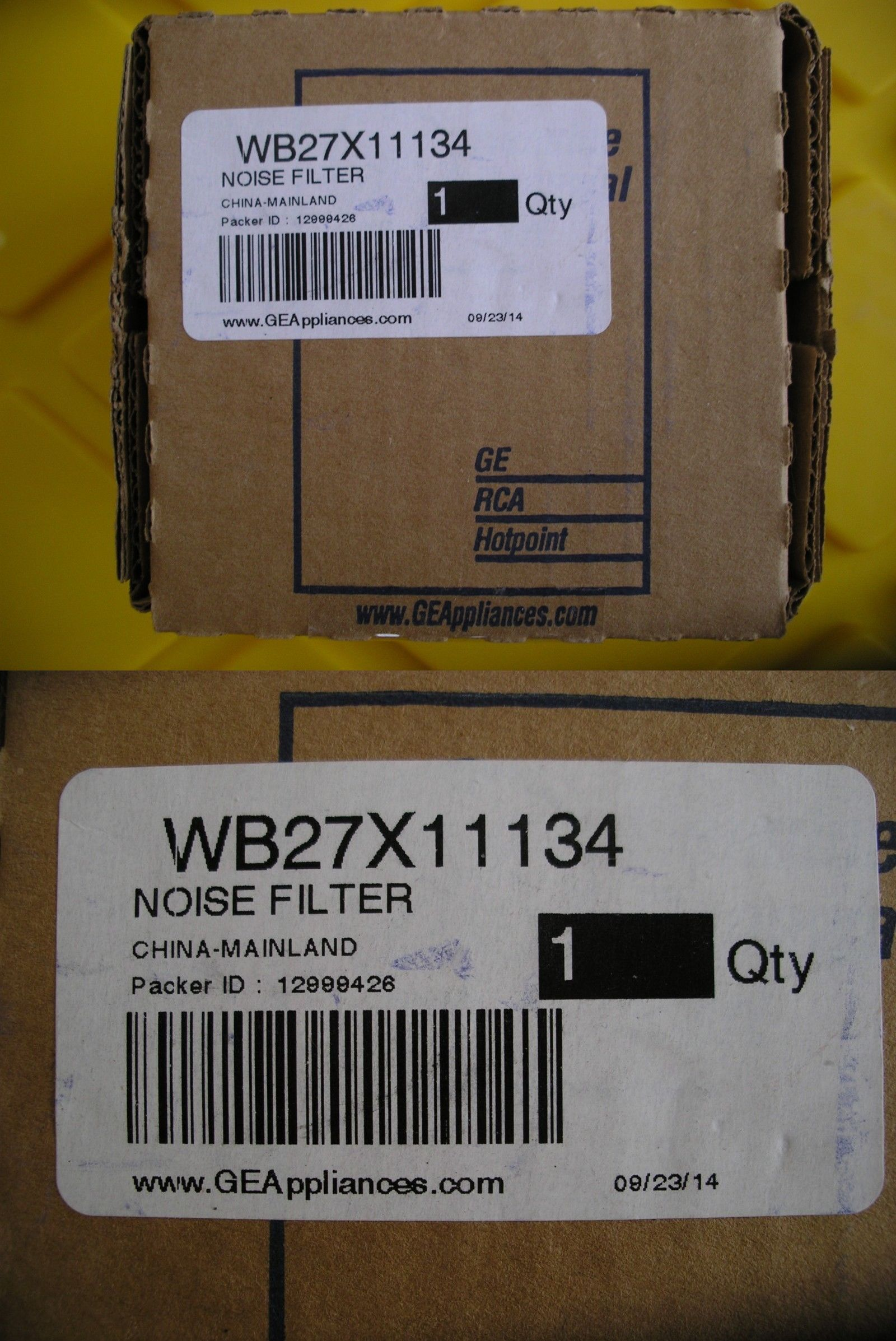 Microwave Parts And Accessories 159903 Wb27x11134 Genuine Ge Noise Filter Oem Brand New Sealed Fast Free Shipping Buy Noise Filter Microwave Parts Noise