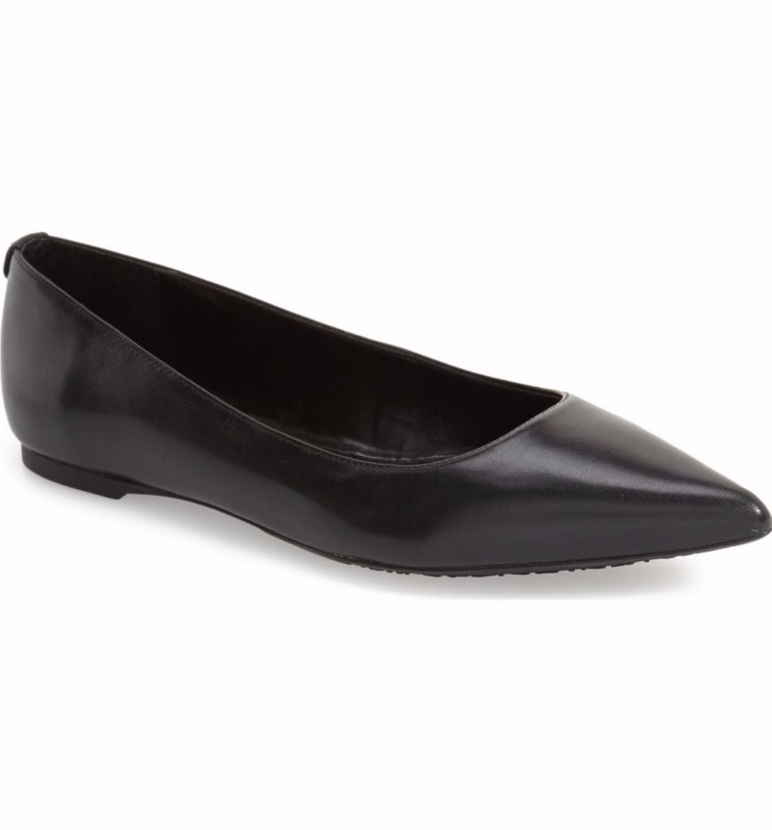 MICHAEL Michael Kors Arianna Black Leather Pointed Toe Flats Shoes 7.5 NEW NIB https://t.co/48vcwzZCku https://t.co/SjHn03PRCX