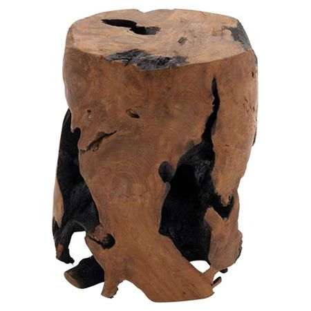 Natural Style Abounds In This Teak Wood Garden Stool, Showcasing An Organic  Shape And Stump Inspired Design. Product: Garden St.